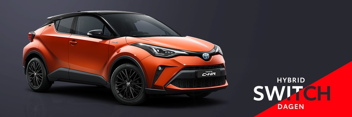 Switch naar de Toyota C-HR Hybrid!