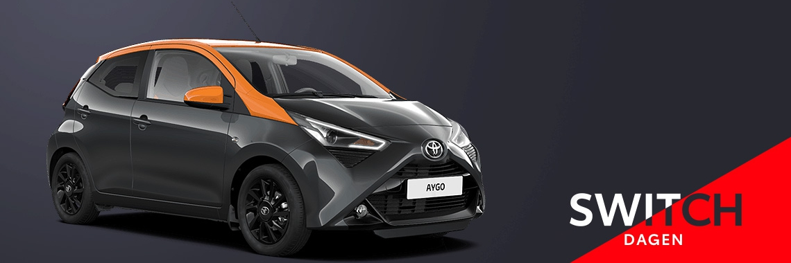 Switch naar de Toyota AYGO!
