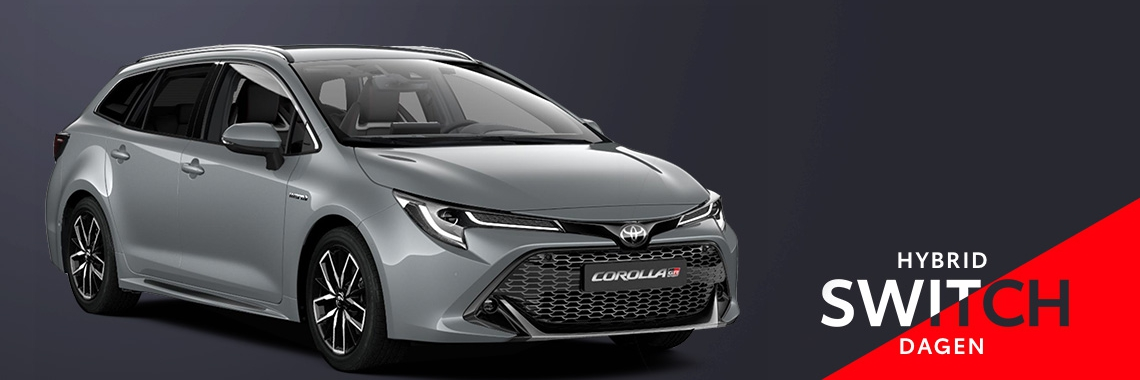 Switch naar de Toyota Corolla Touring Sports Hybrid!
