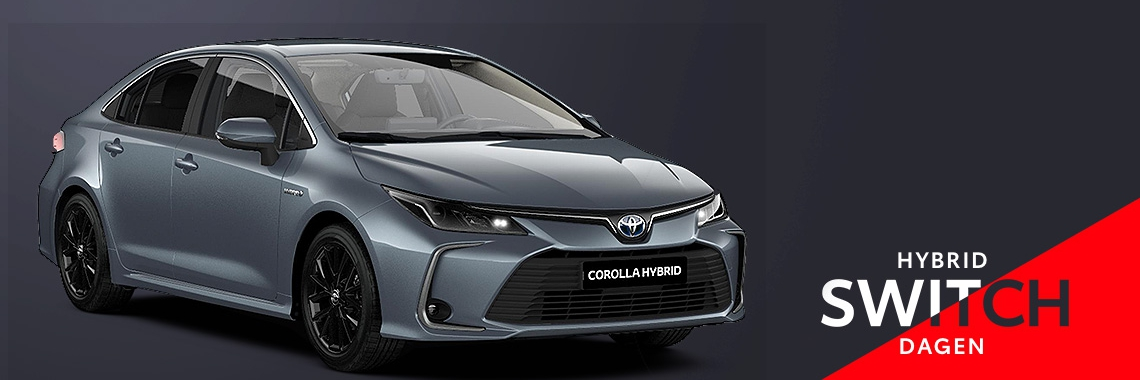 Switch naar de Toyota Corolla Sedan Hybrid!